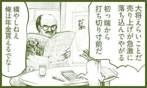 喋る大根 田中 第2話