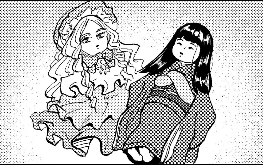 日本人形ちゃん フランス人形ちゃん①